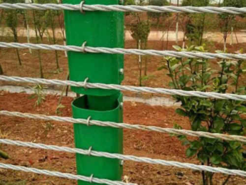 六索缆索护栏